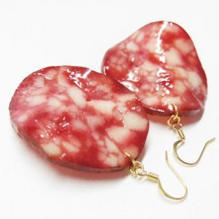 Earrings Salami1