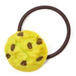 抹茶チョコチップクッキーのヘアゴム