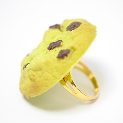 抹茶チョコチップクッキーのリング